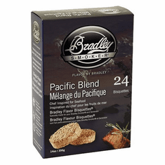 Bradley Smoker 24 Pack Pacific Blend Bisquettes, Model# BTPB24