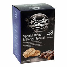 Bradley Smoker 48 Pack Special Blend Bisquettes, Model# BTSB48