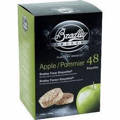 Bradley Smoker 48 Pack Apple Bisquettes, Model# BTAP48
