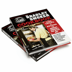 Bradley Smoker Cook Book USA Made, Model# BSCOOKBOOK