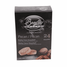Bradley Smoker Pecan Bisquettes 24 Pk For Bradley Smokers , Model# BTPC24