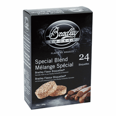 Bradley Smoker 24 Pack Special Blend Bisquettes, Model# BTSB24