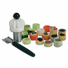 Bron Coucke Turn'Up Cocktail Vegetable Cutter, Model# TU03