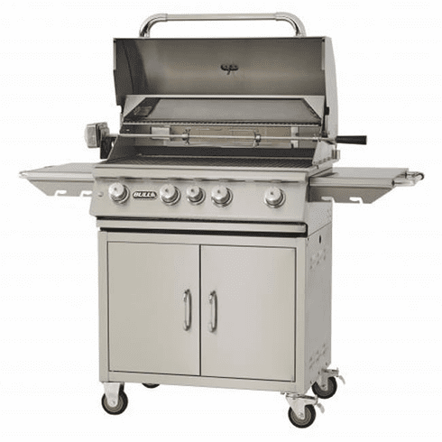 """Bull Outdoor 30"""" Angus Grill and Cart - 4 Burner LP, Model# 44000"""