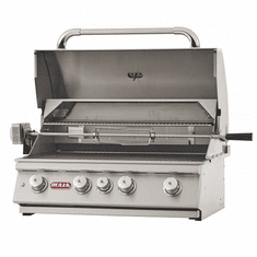 "Bull Outdoor 30"" Angus Stainless Steel Drop-In Grill Head LP, Model# 47628"