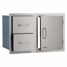 "Bull Outdoor 30"" Door/Drawer Combo Stainless Steel, Model# 25876"