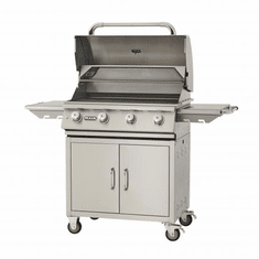 "Bull Outdoor 30"" Lonestar 4 Burner NG Gas Grill, Model# 87002"