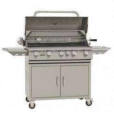 "Bull Outdoor 38"" Brahma Grill and Cart - 5 Burner LP, Model# 55000"