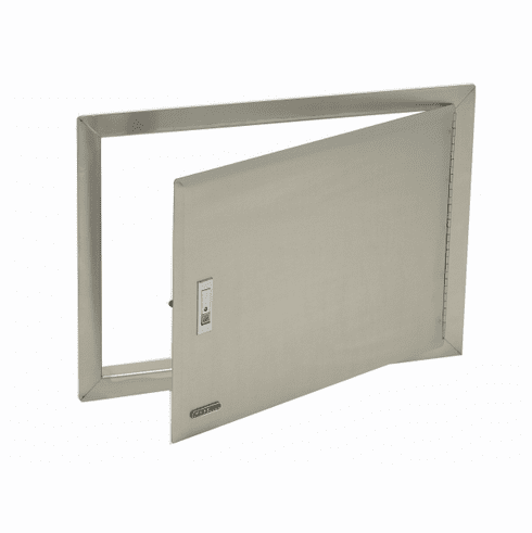 Bull Outdoor Access Door With Lock And FrameStainless Steel, Model# 89970
