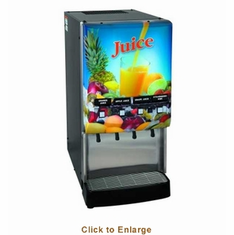 Bunn Cold Beverage JuiceJdf-4S120V W/Water, Model# 37300.0002