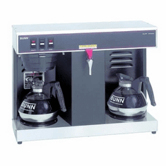 Bunn Commercial Side-By-Side 12 Cup Profile Automatic Coffee Maker With 2 Lower WarmersVlpfBlack, Model# 7400.0005