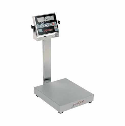 Cardinal Detecto Bench Scale 30 LbX 01 LbWith 204 Storm Indicator, Model# EB-30-204