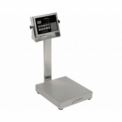 Cardinal Detecto Bench Scale Splash Proof Legal, Model# EB-150-210