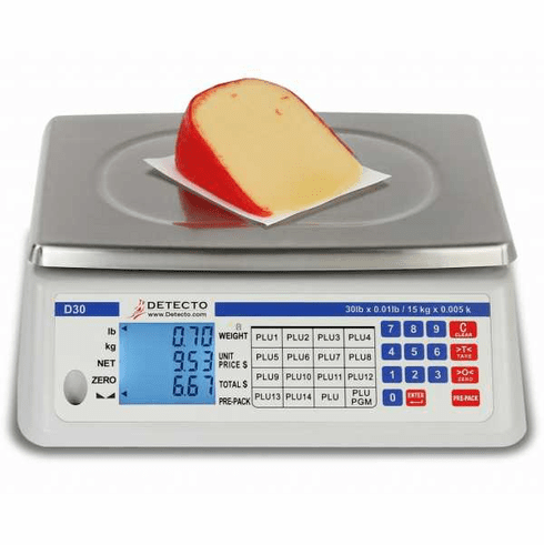 Cardinal Detecto Price Computing Scale Cap: 60 Lb X 002 Lb , Model# D60