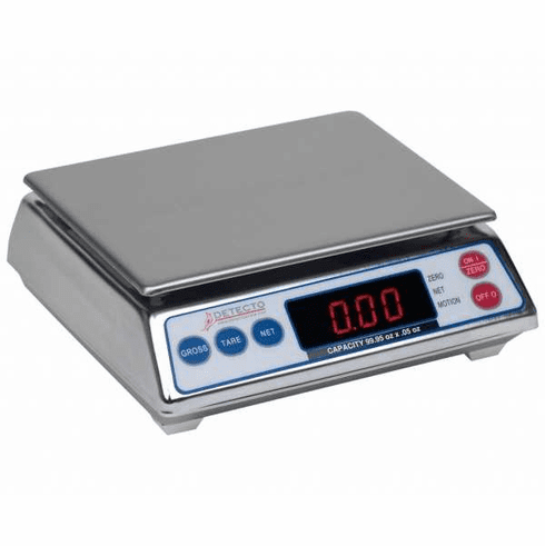 Cardinal Detecto Stainless Steel All Purpose Scale 19.99 Lb X .01 Lb, Model# AP-20