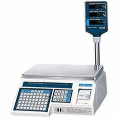 Cas Scalesprice Computing & Label Printing Scales , Model# alp1-30p