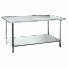 Commercial 20 Gauge 430 SS Work Tables