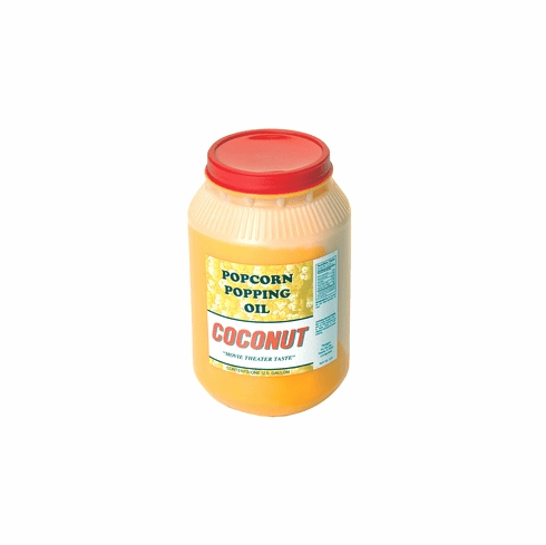 Country Harvest Coconut Popcorn Popping Oil (Gallon), Model# 1015