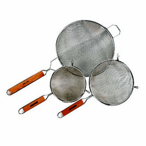 "Crestware 14"" Hd Double Mesh Strainer, Model# WHSHD14"