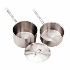 Crestware 3 1/2 Qt Stainless Sauce Pan, Model# SSPAN3WC