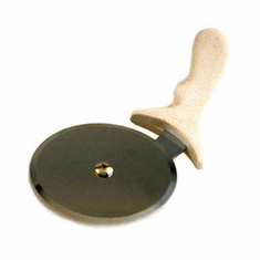 "Crestware 4"" Pizza Cutter W/ Wood Hndl, Model# WHPC4"