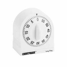 Crestware 60 Minute Long Ring Timer, Model# TIMLR