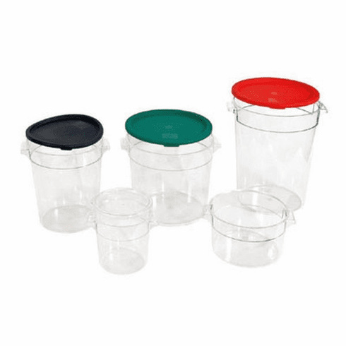 Crestware 8 Qt Round Clear Container, Model# RCC8