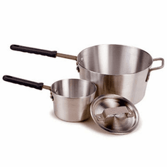 Crestware 8 Qt Sauce Pan W/ Handle, Model# PAN8H