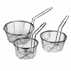 "Crestware 9 1/2"" Wire Fry Basket, Model# WFB9"