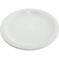 "Crestware Alpine White 6 1/4"" Plate, Model# AL42"