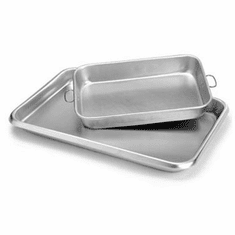 Crestware Alum Bake Pan 11 X 17 X 2 1/2, Model# ABP1117