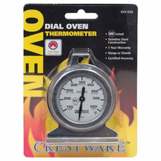 Crestware Dial Oven Thermometer, Model# TRMDO550