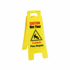 Crestware Folding Wet Floor Sign, Model# WFS
