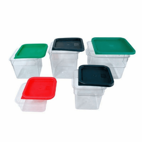 Crestware Red Lid For 6 And 8 Qt Container, Model# SQCL68