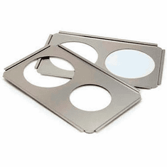 Crestware S/S Adaptor Plate 8 1/2 X 2, Model# SAP8