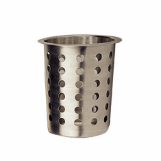 Crestware Stainless Silverware Cylinder, Model# SCS