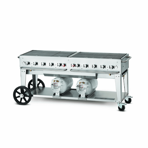 "Crown Verity Club Grill 72"", Model# CV-CCB-72"