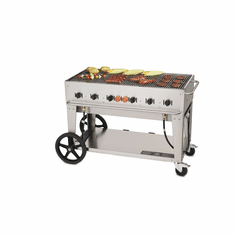 "Crown Verity Mobile Outdoor Bbq Grill / Charbroiler48"" Natural GasMcb-48-Ng, Model# CV-MCB-48 NG"