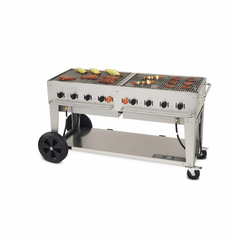 "Crown Verity Mobile Outdoor Bbq Grill / Charbroiler60"" Lp GasMcb-60-Lp, Model# CV-MCB-60 LP"
