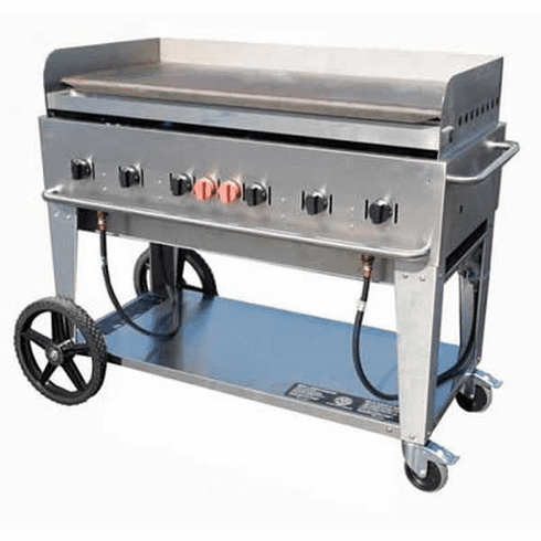 "Crown Verity Mobile Outdoor Griddle48"" Natural Gas, Model# CV-MG-48NG"