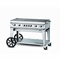 "Crown Verity Rental Grill 48"" - Single Inlet, Model# CV-RCB-48-SI"