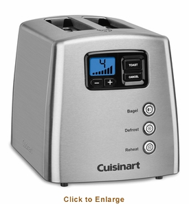 Cuisinart 2-Slice Countdown Leverless, Model# CPT-420