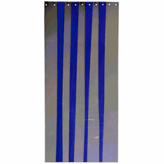 "Curtron 4 pack of 6"" wide, 86"" long Curtronizer Polar-Reinforced Replacement Strips Model CZN-6-PR-86-4PK"