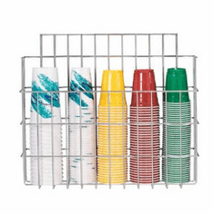 Dispense Rite Surface Mounted Wire Cup Caddy, Model# WR-CC-22
