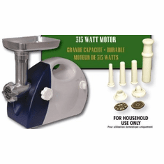 Eastman Outdoors Electric Meat Grinder - 315 Watt, Model# 38339