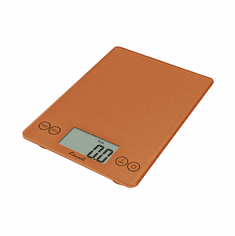 Escali Arti Glass Digital Scale, 15 Lb / 7 Kg, Cinnamon, Model 157CN