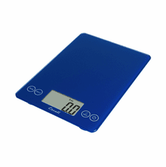 Escali Arti Glass Digital Scale, 15 Lb / 7 Kg, Electric Blue, Model 157EB
