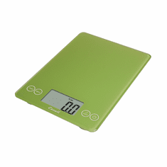 Escali Arti Glass Digital Scale, 15 Lb / 7 Kg, Key Lime Green, Model 157LG