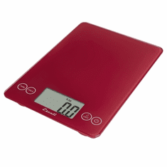 Escali Arti Glass Digital Scale15 Lb / 7 KgRetro Red, Model# 157RR