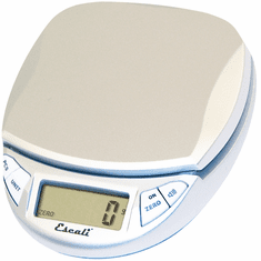 Escali Pico Digital Scale11 Lb / 5 KgSilver-Gray, Model# N115S